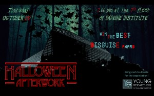 Afterwork Halloween affiche