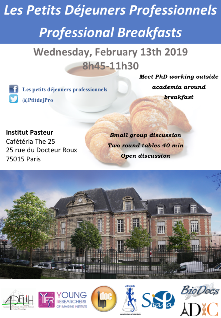 Professional Breakfasts – Young Researchers of Imagine Institute